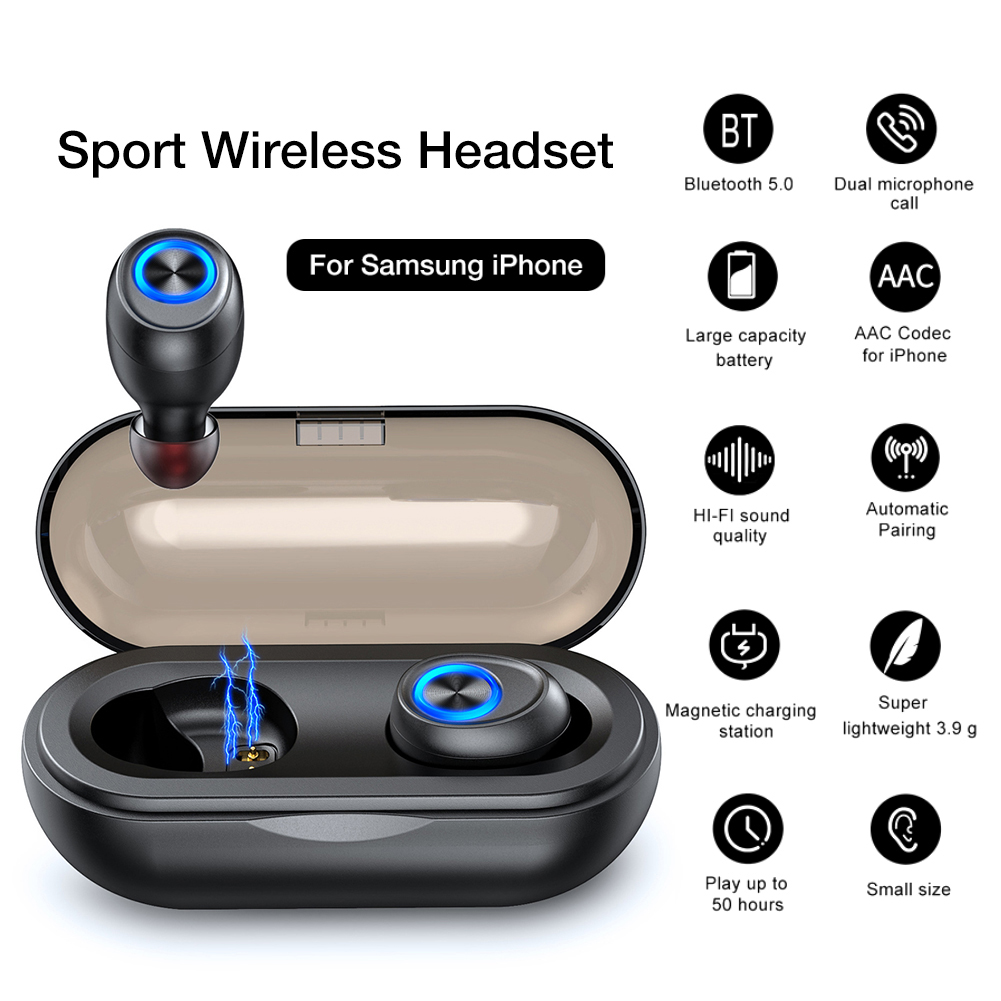 ANOMOIBUDS IP010 Wireless Bluetooth Earbuds TWS High Sound Quality Fitness  Noise Reduction Portable Light Mini Earbud With Mic