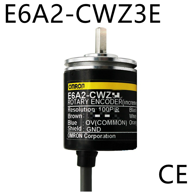 E6A2CWZ3E OMRON Rotary Encoder E6A2-CWZ3E 500 400 360 200 100 60 50 40 30 20 10P/R 5-12v CE nib rotary encoder e6b2 cwz6c 5 24vdc 800p r