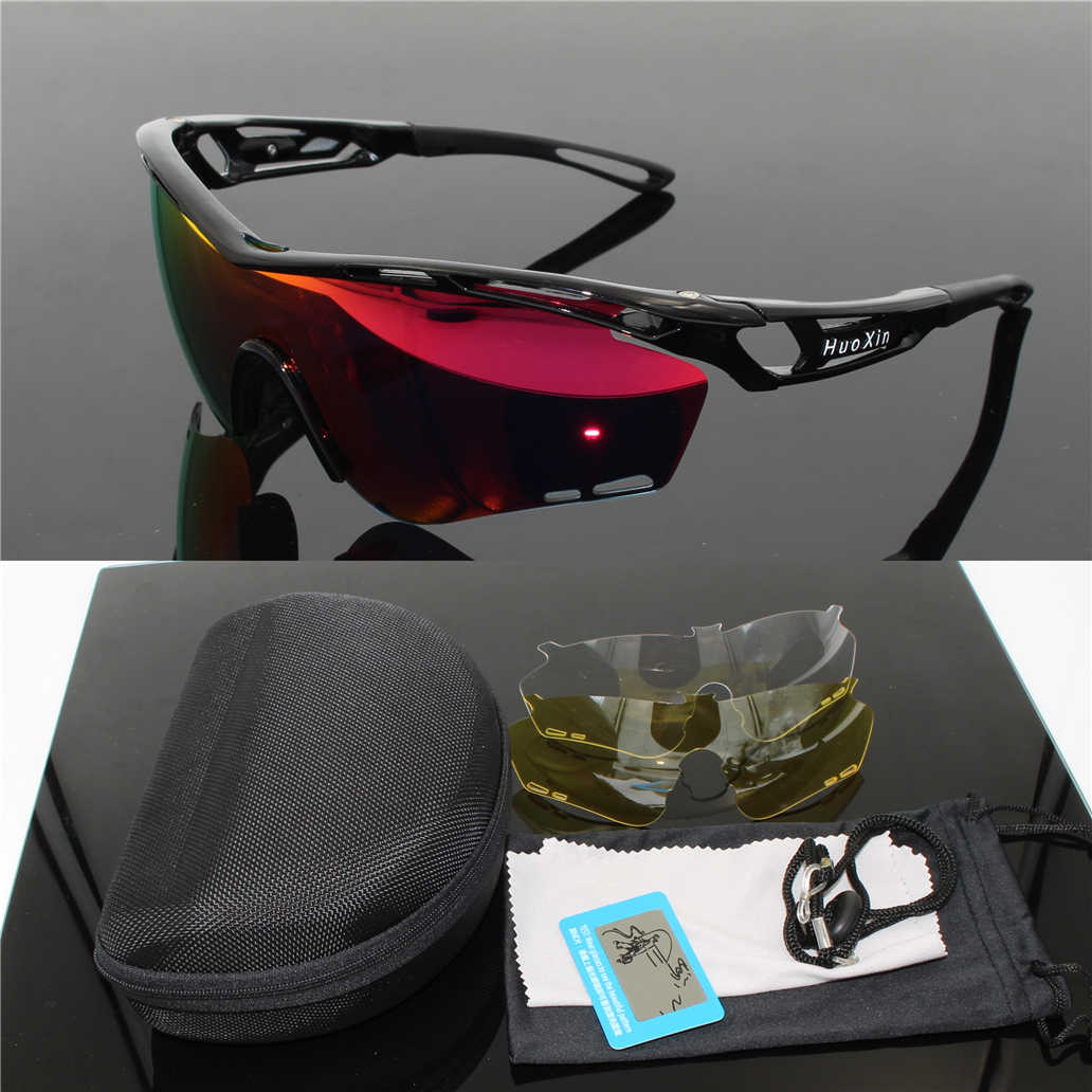 eac77645e5 2018 Cycling Sunglasses Polarized UV400 Men TR90 Frame MTB Outdoor Sports  Riding glasses Running Goggles Oculos