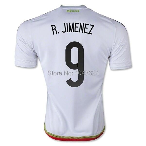 f88a42823d3 Customized Mexico  9 Raul Jimenez Soccer Jerseys