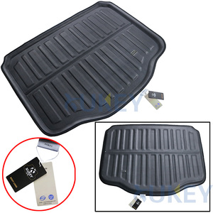 Image 2 - For Buick Encore/Opel/Vauxhall Mokka 2013 2014 2015 2016 2017 2018 Boot Mat Rear Trunk Liner Cargo Floor Carpet Car Accessories