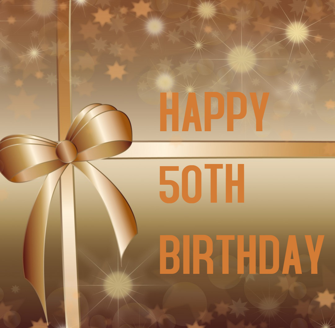 <font><b>Happy</b></font> <font><b>50th</b></font> <font><b>Birthday</b></font> Party <font><b>Backdrop</b></font> Fabulous Party Banner Photo <font><b>Backdrop</b></font> Decorations booth Props Background for Pictures SM-090 image