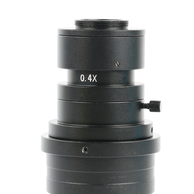 Image 3 - 200X 500X FHD 0.7X 5X Adjustable Magnification Continuously Variable C mount Zoom Lens For HDMI VGA USB Video Microscope Camera-in Lenses from Tools