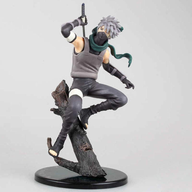 Anime Naruto Hatake Kakashi Figure PVC Naruto Kakashi Hatake Collectible Model Toy Doll 24CMAnime Naruto Hatake Kakashi Figure PVC Naruto Kakashi Hatake Collectible Model Toy Doll 24CM