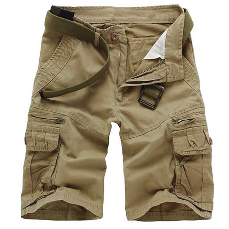 Camouflage Camo Cargo Shorts Men 2018 New Men Casual Shorts Male Loose Work Shorts Man Military Short Pants Plus Size