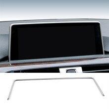 Автомобиль внутренняя консоли gps-навигации НБТ Экран рамка Обложка отделка Аксессуары для BMW 1/2/3/4 серии 3GT F30 F31 F32 F34 F36 316i 320
