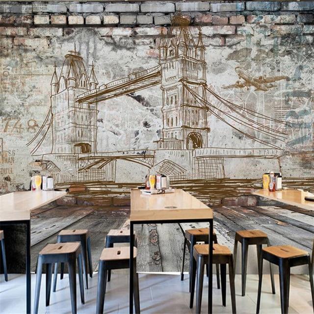 beibehang papier peint wallpaper for walls 3 d Custom wallpaper ...