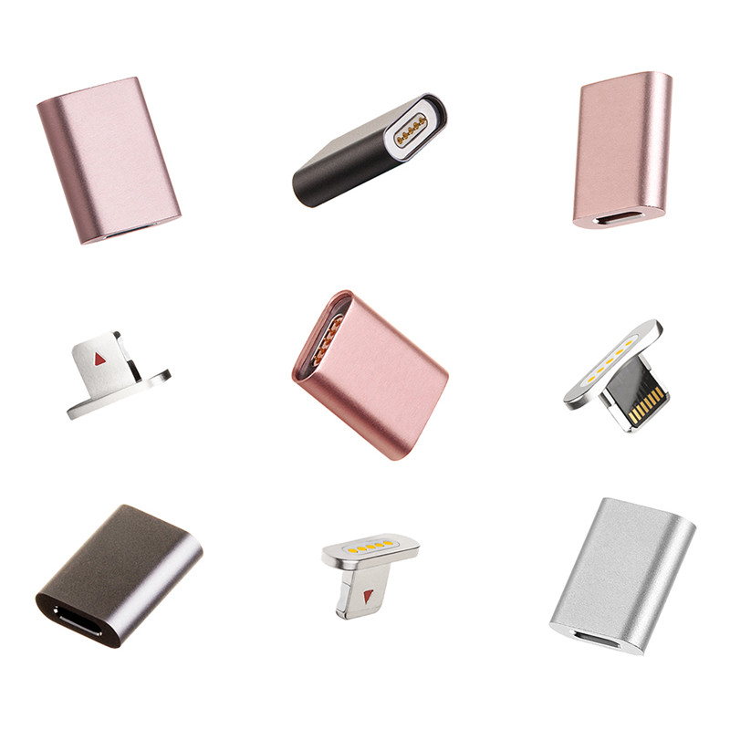 Phone Charger Adapter Magnetic Charging Cable Magnetic Adapter For iPhone Samsung Huawei Sony LG HTC Xiaomi VHH82 P18 0.25