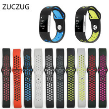 ZUCZUG for Fitbit Charge 2 Band Strap Silicone Soft Watchbands Bracelet Smart Wristbands Wearable Device Accessories