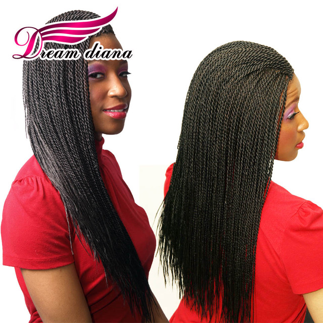 Crochet Senegalese Twist Pre Twisted Hair 22 Inch Havana Twist