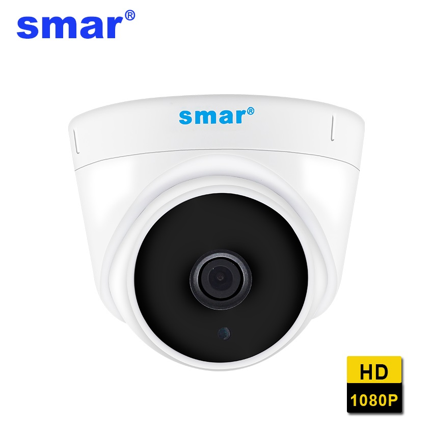 Smar CCTV IP Camera H.264 1080P Security Camera Indoor with IR-Cut Filter Night Vision Onvif Surveillance Camera for CCTV NVR 120m 150m 200m h 264 hdmi over tcp ip extender with 20 60 khz ir