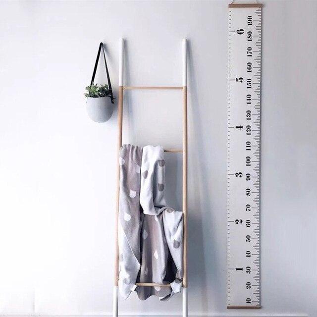 1 шт., скандинавские детские подвесные линейки с высотой, диаграмма роста высоты для детской комнаты, настенные художественные украшения