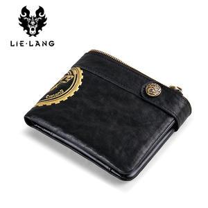 509960f1e7e3 LIELANG Genuine Leather Men's Wallet Small Coin Purse Male
