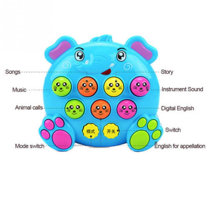 Image 4 - Baby Kids Plastic Music Toys Play Knock Hit Hamster Insect Game Playing Fruit Worm Educational instrumentos musicais-in Toy Musical Instrument from Toys & Hobbies