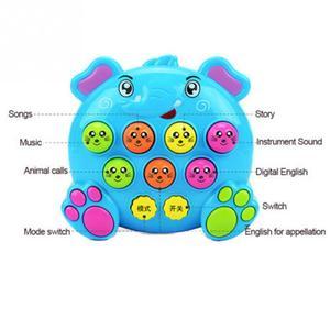Image 4 - Juguetes musicales de plástico para niños y bebés, juguete para golpear a los hámster, juego de insectos, gusano de la fruta, Instrumentos educativos, Juguete musical