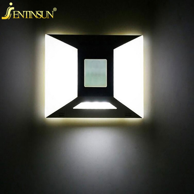 10CM LED Wardrobe Light PIR Infrared Motion Sensor Wall Lamp Energy Saving  Cabinet Closet Battery
