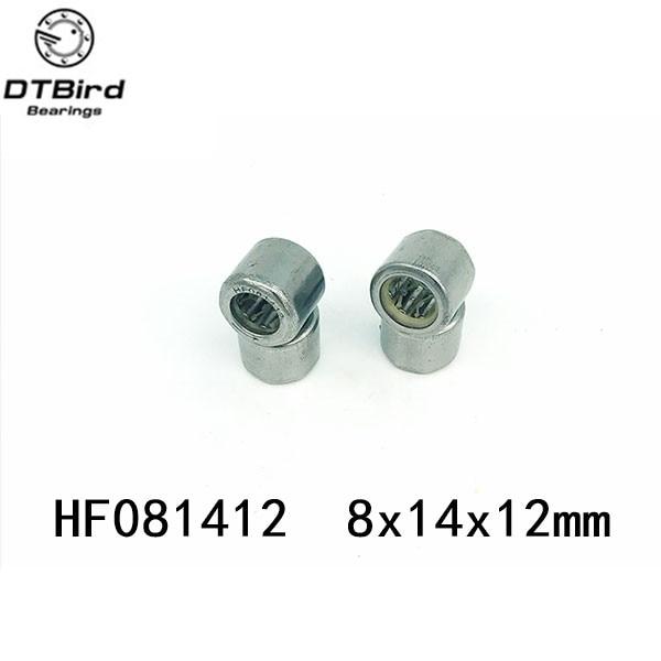 Free shipping 10pcs HF081412 one way clutch needle roller bearing 8X14X12mm bearing  цена