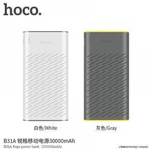 HOCO Power Bank 30000mAh Universal Powerbank Portable External Battery Charger For iPhone X XS XR 8 Xiaomi 8 Dual USB Pover Bank