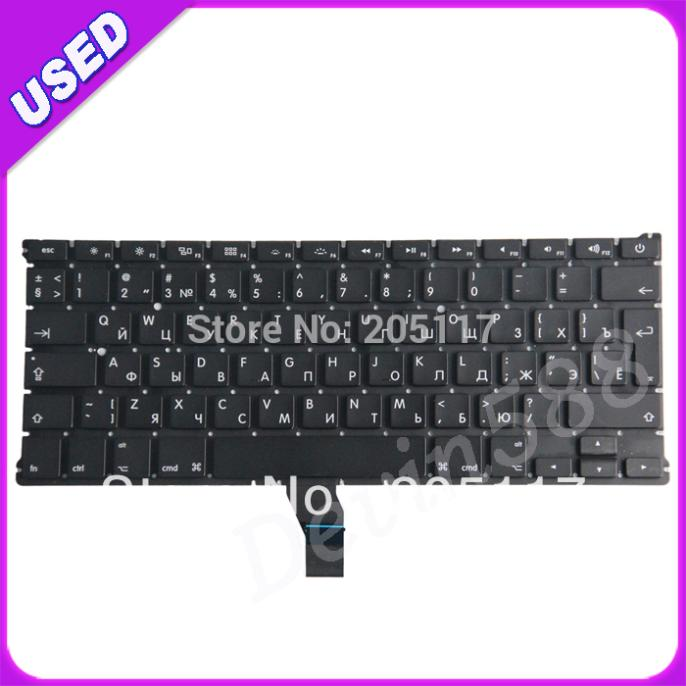 13.3  Russian keyboard For Macbook Air A1369 MC503 MC504 2011 RU Laptop keyboard , TESTED OK ! macbook air mc 505 бу в киеве