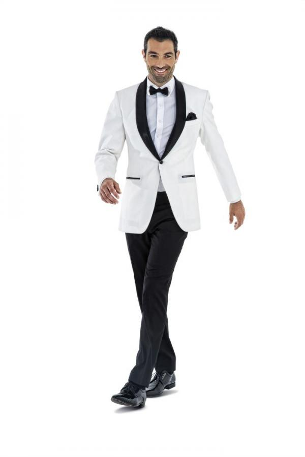 Latest Coat Pant Designs White Wedding Suits For Men Formal Slim Fit Prom Groom Gentle Tuxedo Custom 2 Piece Jacket Terno Aui In From S Clothing
