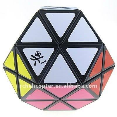 Dayan Gem cubo mágico negro gran muralla Childern educativos Twisty Puzzle juguete para Childern venta caliente cubo de colección