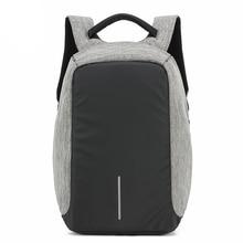 Мужской рюкзак anti theft многофункциональный Оксфорд Повседневная ноутбук рюкзак с USB зарядка Водонепроницаемый дорожная сумка мешок компьютера Bagpack