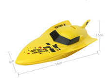 RC Speed Boat Volvo Rowing Model 4CH 2.4G 2.4V for Kids