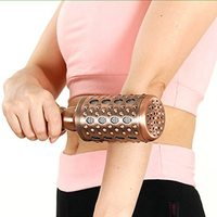 Moxibustion Rod Copper Large Body Massage Stick Arm Moxa Box Ai Instrument Therapy Care Tool Chinese Medicine Household