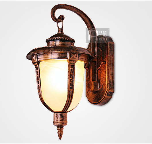 цены New Vintage Free Shipping Bedroom Clear Glass Wall Light Europe Kirsite Hallway gallery Bathroom Wall lamp Contracted Lamp