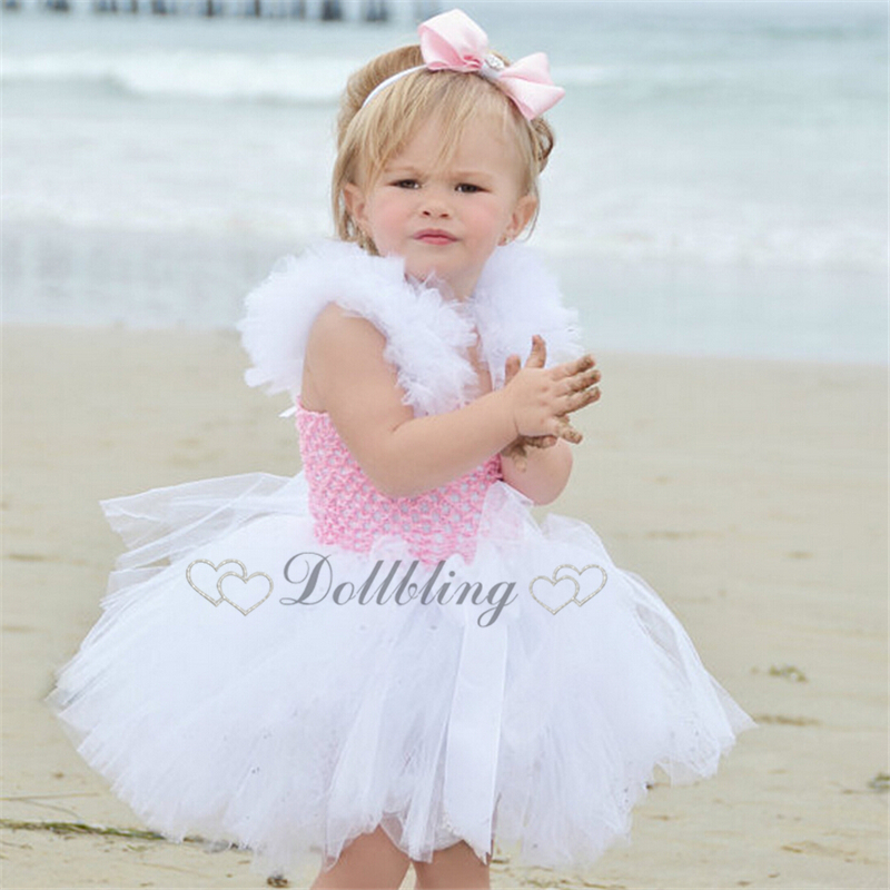 ФОТО Ellie Bridal Lake Blue Blush pink purple custom made baptism Bohemian Easter dress First communion Ball Gown Dress d1022