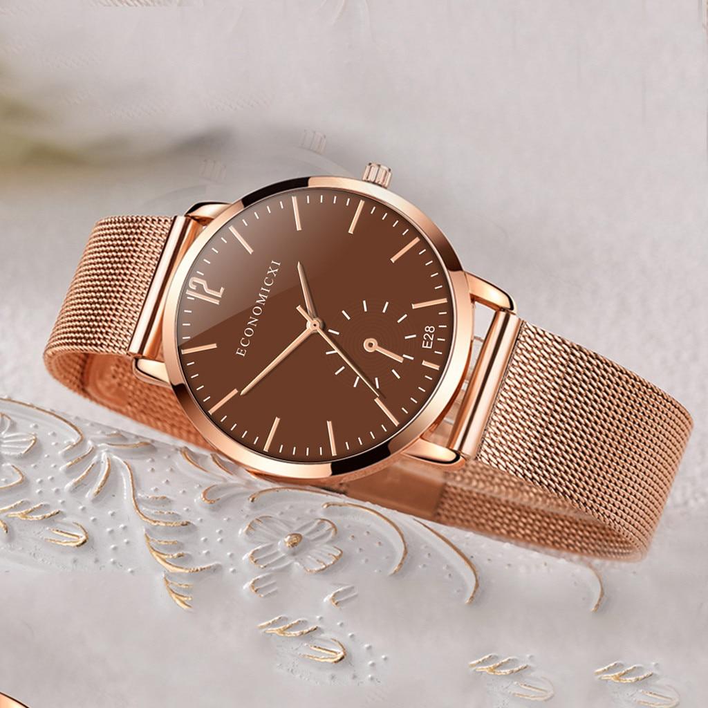 Quartz Watches Ladies Round Watch Women Bayan Kol Saati Simple Small Round Dial Bracelet 2019 Casual Quartz Waches T611