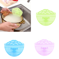 New Creative Smiling Face Plastic Leakproof Rice Washing Device Protecting Hands Filter Strainer kitchen Hot Sale