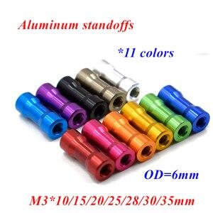 20pcs M3 aluminum spacers M3*1