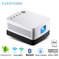 Everycom J20 dlp Projector Full HD 1080p 700 ANSI Lumens Android 4Kx2K Portable Video Game Education Business Home Cinema
