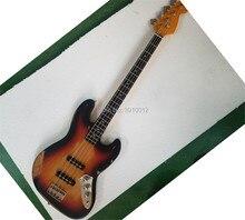 где купить 2018NEW!!  4 string bass guitarHandmade Musical Instruments shop,free shipping. по лучшей цене