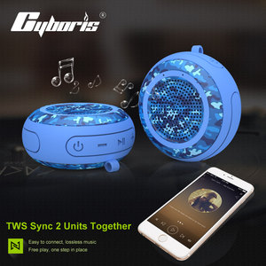 Image 4 - Cyboris מים צף IPX7 עמיד למים 5W חיצוני Bluetooth רמקול TWS שחייה נייד מיני רמקולים אלחוטי עם מיקרופון/TF/Aux