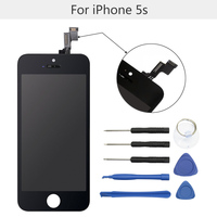 LCD Screen For IPhone 5S 5C Display Replacement With Tool Kits Touch Screen Digitizer Assembly No