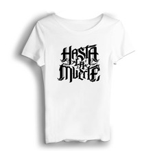 цена на Real Hasta La Muerte  Men T Shirts Short Casual Modal O-Neck Round T-shirt Wholesale T Shirts Hip Hop Tops White Military Shirt