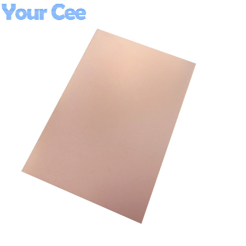 5 pcs Large Double Side PCB Epoxy Fiber FR4 Copper Clad Plate Laminate Laminating 300*200*1.6mm 300x200mm 20X30cm