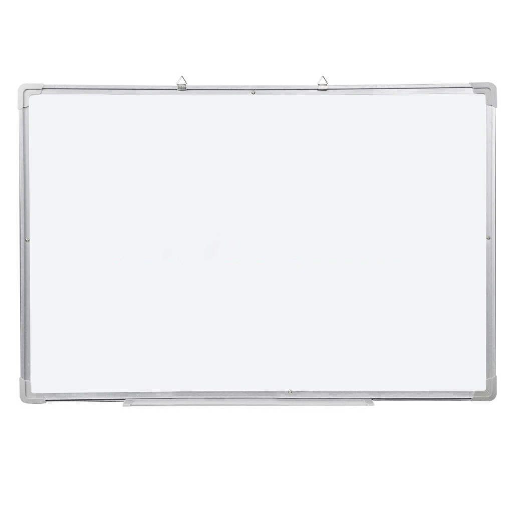 Magnetic Dry Wipe Whiteboard & Eraser Memo Teaching Board Kitchen Office (500 x 350mm) dry wipe magnetic 20 30cm whiteboard imitation aluminium plastic frame double sided white memo board wood easel free gift pw01
