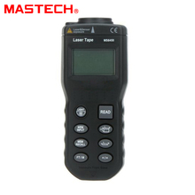 Cheaper Mastech MS6450 Electronic LCD laser Rangefinders Hand-held 15M Laser Pointer Tester Estimator Range Finder