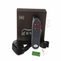 250m No Harm 4 In 1 Electric Remote Pet Control Stop Bark Anti Bark Shock Vibration