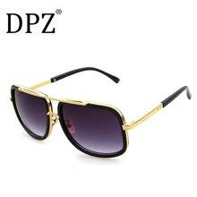 2019 men's Large frame sunglasses Vintage steampunk women sun glasses aviation g