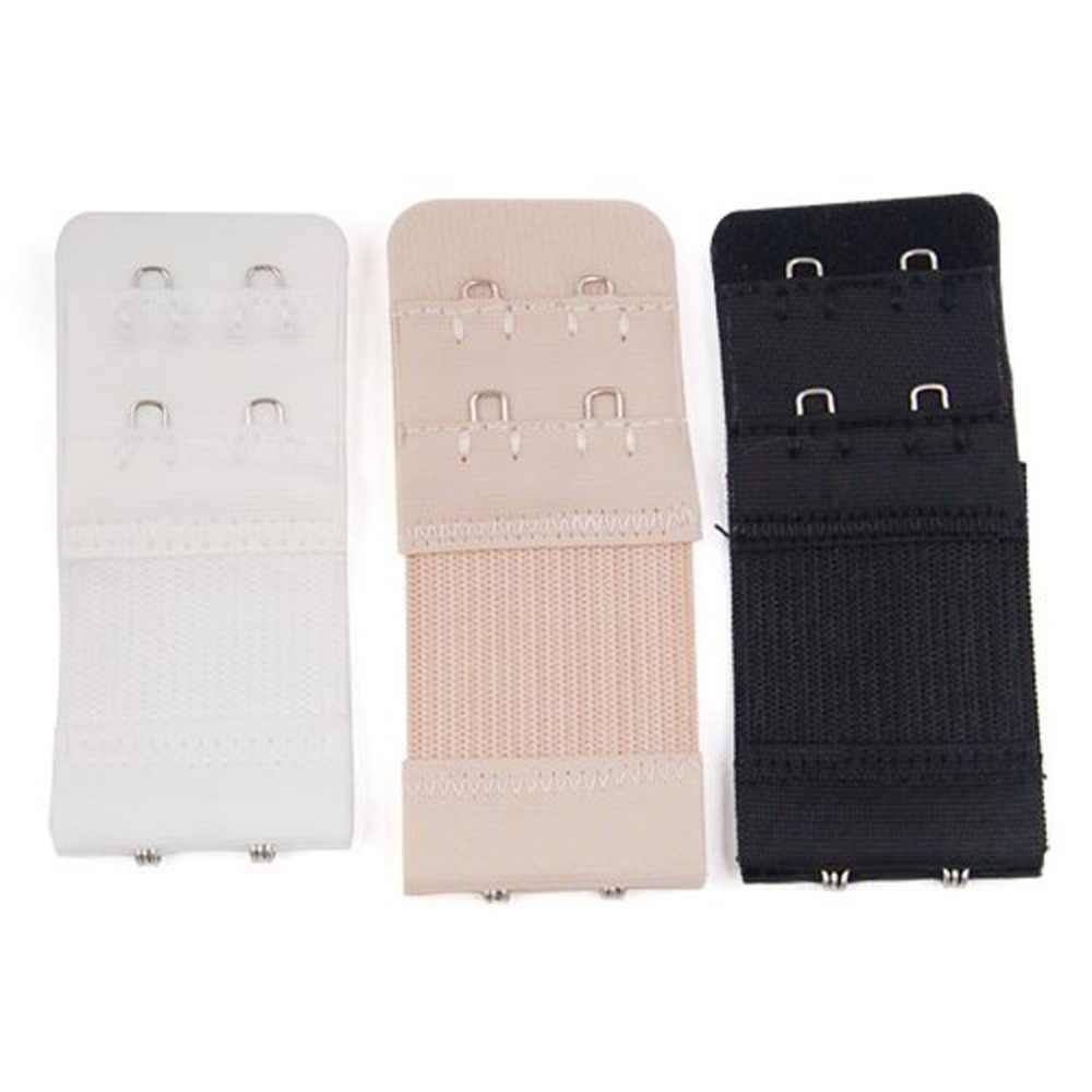 3/6 Uds. Ganchos eléctricos de portería sujetador correa de extensores correa de extensión blanco negro cierre desnudo 2x3