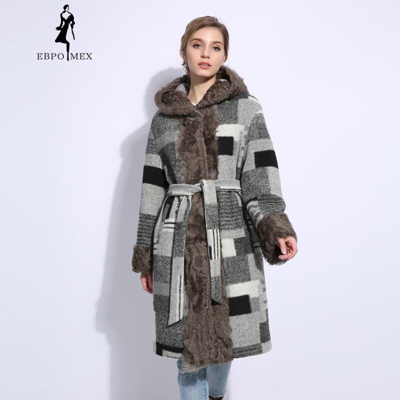 Trend style lattice Wool parka women Parkas Fashion winter parka women long spring parka women jackets 100%wool coat Long coat