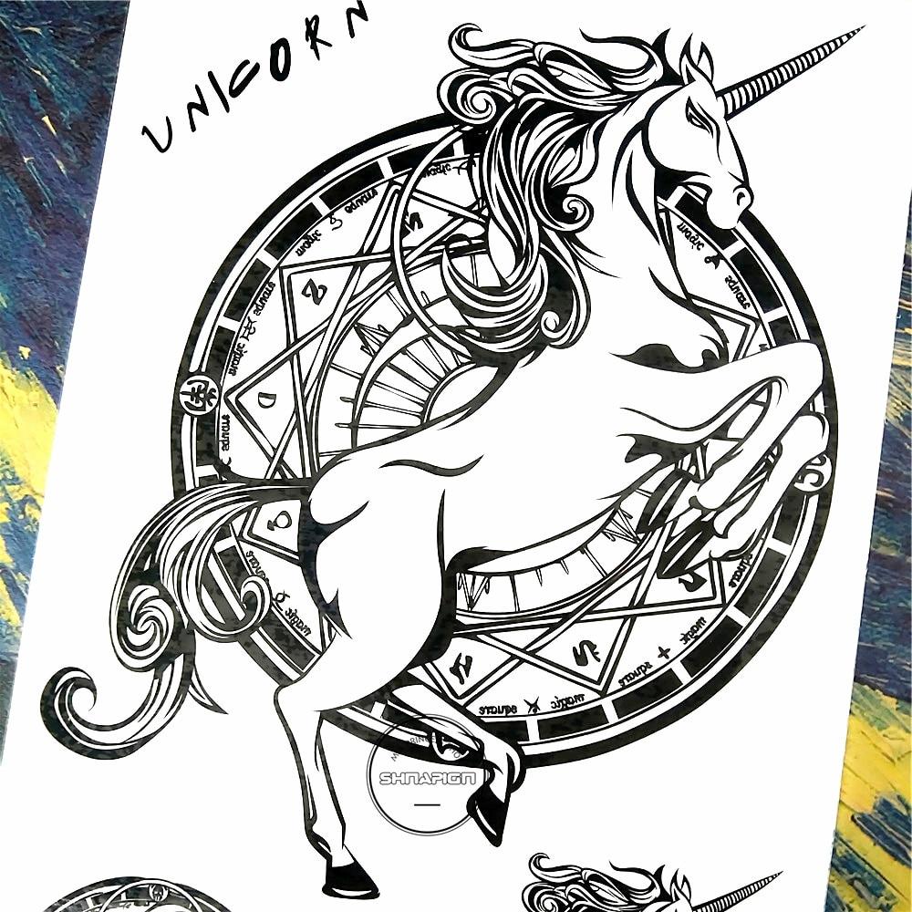 Horse Tattoo Flash Art Www Topsimages Com