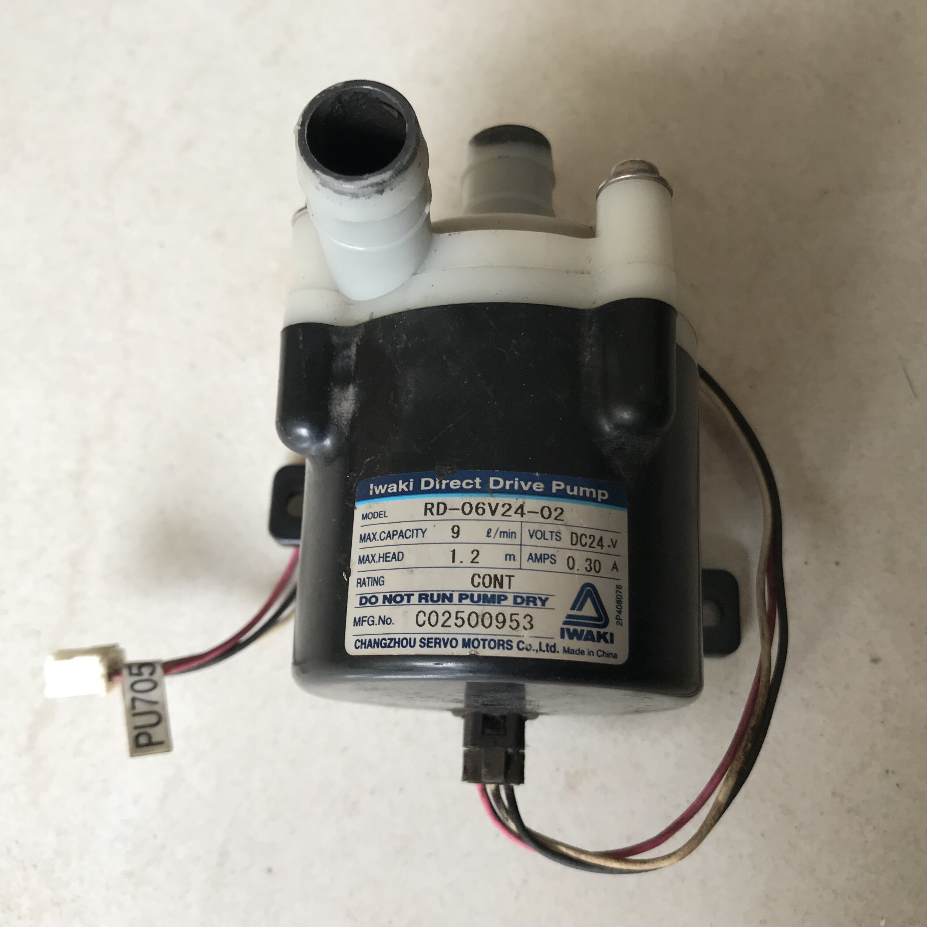 Used Fuji pump for 133Y100059 133C1060556 133C1060557 133C1060558 133C1060559 133C1060560 133C1060561 frontier 550 570