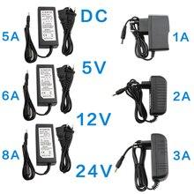 Adattatore di alimentazione cc 5V 12V 24 V 1A 2A 3A 5A 6A 8A trasformatori ca cc 220V a 12V 5V 24 V adattatore di alimentazione 5 12 24 V Volt