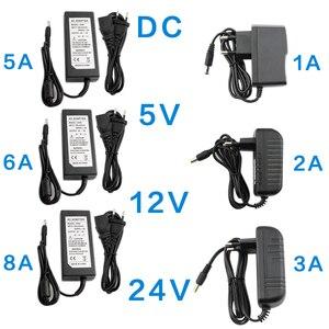 Image 1 - DC 5V 12V 24 V อะแดปเตอร์ 1A 2A 3A 5A 6A 8A AC DC Transformers 220V To 12V 5V 24 V อะแดปเตอร์ 5 12 24 V โวลต์