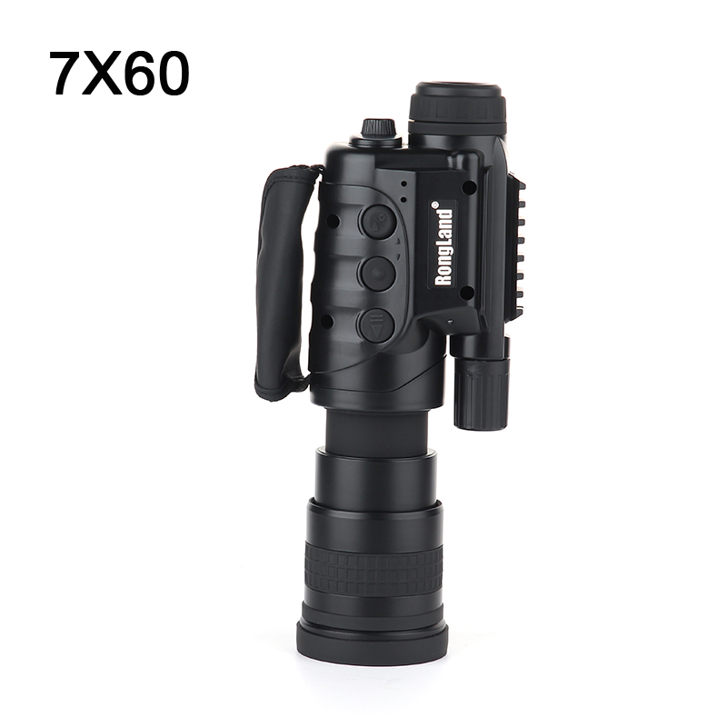 цены на 7X Camera digital CCD monocular Infrared Automatic Inductive day night vision goggles night vision scope for hunting hot selling